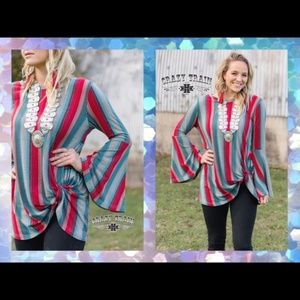 Southern Bell Knot Top